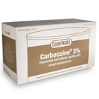 Cook-Waite Carbocaine 3% (Mepivacaine HCL 3%) Local Anesthetic without Vasoconstrictor, Box of 50