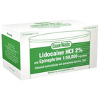Cook-Waite Lidocaine Lidocaine HCL 2% with Epinephrine 1:50,000 Local Anesthetic, Box of 50 - 1.7