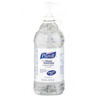 Purell Instant Hand Sanitizer. 62% Ethyl Alcohol and Moisturizers, Hypoallergenic. 2 Liter Pump