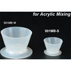 Plasdent Silicone Mini Bowls, Small, 8cc, Package of 3 mini-bowls