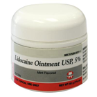 Septodont Lidocaine Ointment - USP 5% Mint Flavored Topical Anesthetic, 50 gm Jar. Amid-based