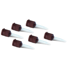 Versa-Temp Mixing Tips Brown Needle tip for 5 ml Syringe, Package of 20 Tips. (Fits NEZO, ZOE)