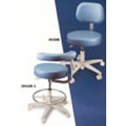 Brewer Stools #2042L Assistant's Stool - Left Body Support - Comfortable 15