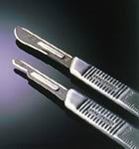 Bard Parker #4 Stainless Steel Surgical Blade Handle