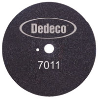 "Dedeco Foster-Type 10"" Model Trimmer Wheel, Single Wheel"