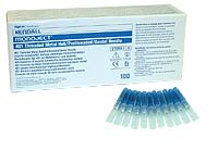 "Monoject #401 30 gauge Short (1.00"") Metal Hub Needles 100/Box. Sterile, Disposable"