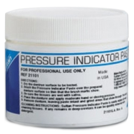 Cargus Pressure Indicator Paste, Used to identify high spots with fitting and adjusting dentures