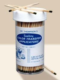Dr. Thompson Color Transfer Applicators, Single Bottle with Applicators