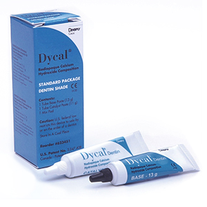 Dycal Ivory shade Standard Package - Radiopaque Calcium Hydroxide Liner: 1 - 13 Gm. Tube Base, 1
