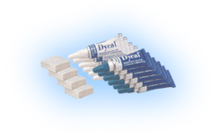 Dycal Ivory shade Six-Pack Kit - Radiopaque Calcium Hydroxide Liner: 6 - 13 Gm. Tubes Base, 6 - 11