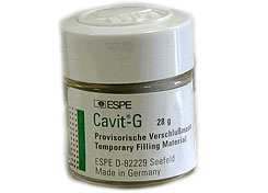 Cavit Single Jar, Original Pink (Hard) Temporary Filling Material, Self-Cure, 28 Gm. Jar. #44030