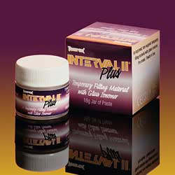 Interval II Plus One-Component, Ready-Mixed, Temporary Filling Material with Fluoride Release. 18