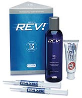 Perfecta Rev Refresher Pack - 14% Hydrogen Peroxide, Mint Flavored Tooth Whitening System. Pack