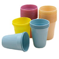 TC Dental Green 5 oz. Plastic Cups, Case of 1000