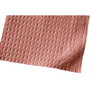 "Tidi Patient Bibs MAUVE 13"" x 18"" 3-Ply Paper/1-Ply Poly 500/Cs. Plain Rectangle. **Heavy shipping"