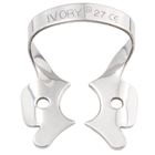 Ivory Clamps #27 Winged Metal Rubber Dam Clamp, Single clamp