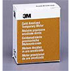 3M ESPE #3 Lower Left 1st Molar Gold Anodized Temporary Crown Form, Box of 5 Crown Forms