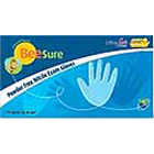 BeeSure Nitrile Exam Gloves: Medium, Non-Sterile, Powder-free, Ultra-Soft, Fingertip-Textured