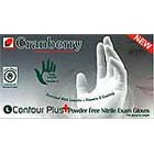 Contour Plus Nitrile Exam gloves: MEDIUM Non-Sterile, Powder-Free