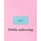 PolyGard Deluxe BLUE color pebble embossing deluxe 3ply Paper/Poly Towel, 18