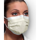 Procedural Ear-Loop Face Mask - BLUE 50/Bx. Fluid Resistant Outer and Inner Layers. BFE > 99.9%