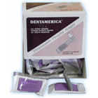 DentAmerica disposable plastic prophy angle with medium soft cup, box of 500 angles and cups