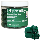 Dispersalloy Regular Set Single Spill (400 mg), 50 Capsules/Pack. Silver/Copper Dispersed Phase