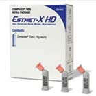 Esthet-X HD A2 Compules - High Definition Micro Matrix Restorative, Light-Cure, 20 - .25 Gm