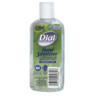 Dial Hand Sanitizer, Fragrance and Dye-Free, Kills 99.99% of pathogenic germs, 4 oz. Bottle