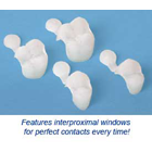 DirectCrown Natural 1(TM) Natural 1 Upper Left 2nd Bicuspid, Small - Natural 1 Long-Term Provision