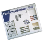 Flexi-Overdenture 12 Posts Stainless Steel Introductory Kit: 12 Overdenture Posts