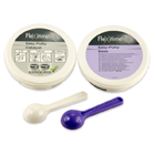 Flexitime Easy Putty, Base and Catalyst Refill, 600 mL Mixed Volume. A-Silicone VPS Precision