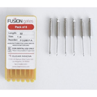 Fusion Dental #2 Gates Glidden Drills 32 mm 6/Pk. Stainless Steel, High Quality, Manufactured