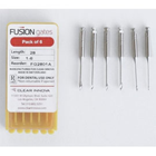 Fusion Dental #1 Gates Glidden Drills 28 mm 6/Pk. Stainless Steel