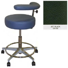 Galaxy Assistant's Stool - Jet Black Color. 16