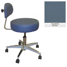 Galaxy Doctor's Stool-Round Seat with Comfortable Back Support - Atlantis Color. 16