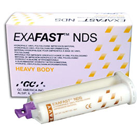 Exafast NDS Heavy Body 2/Pk. & Tips (48 mL). Fast Set VPS Impression Material, 2 - 48 mL