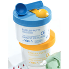 ExaFlex Putty vinyl polysiloxane - 500 Gm. Jar each of Base (Yellow) and Catalyst (Blue) and 2