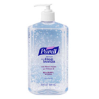 Purell Instant Hand Sanitizer 20 oz. Pump Bottle. no water or towels