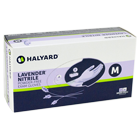 Lavender Nitrile Exam Gloves: SMALL Powder-Free, Non-Sterile, Textured Finger Tips, Lavender. Box