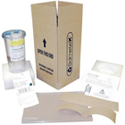 Hg5 Collection Container with Recycle Kit. Provides the Container and Packaging necessary to ship