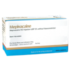 ODS Mepivacaine 3% Local Anesthetic PLAIN, Box of 50 - 1.7 mL