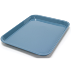 House Brand Set-up Tray Flat Size B (Ritter) - White, Plastic, 13-3/8