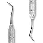 iSmile #3S Hollenback Carver DE with GripRite SS Handle, For placing, carving and shaping amalgam