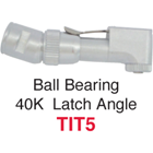 Johnson-Promident 40,000 RPM Ball Bearing Spring Latch Type - Star Titan Replacement Angles