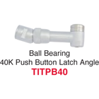 Johnson-Promident 40,000 RPM Ball Bearing Push Button Latch Type - Star Titan Replacement Angles