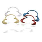 JS Dental Translucent Child Lip and Cheek Retractor, Cold Sterilize, Usefull for Oral Surgery