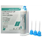 Master-Dent Automix Core Build-up Material Self-Cure, White Shade, 1 - 50 ml cartridge