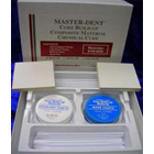 Master-Dent Core Build-Up Material White Kit - Self-Cure (Chemical Cure), Radiopaque; Kit: 14 gram