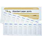 Meta Absorbent Paper Points - #40 Non-Color Coded, Cell Pack of 200. *Made in Korea